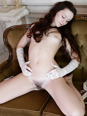 Showy Beauty  Roza  Glamour, Standing position, Rough, Real